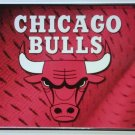 Chicago Bulls NBA Embossed Metal Novelty License Plate Tag Sign