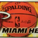 Miami Heat NBA Embossed Metal Novelty License Plate Tag Sign