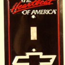 Chevy Heartbeat Metal Novelty Light Switch Covers (single) Plates