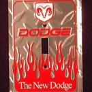 Dodge Diamond Novelty Light Switch Covers (single) Plates