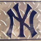 New York Yankees MLB Embossed Metal Novelty License Plate Tag Sign