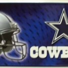 Dallas Cowboys NFL Embossed Metal Novelty License Plate Tag Sign