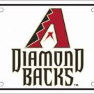 Arizona Diamondbacks MLB Embossed Metal Novelty License Plate Tag Sign