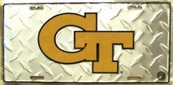 Georgia Tech Collegiate  - Ncaa Novelty License Plate Tag Sign