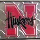 University of Nebraska Corn Huskers Collegiate  - Ncaa Novelty License Plate Tag Sign
