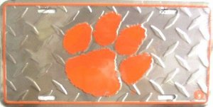 Clemson South Carolina Collegiate  - Ncaa Novelty License Plate Tag Sign