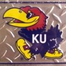 Kansas University Jayhawks - Ncaa Novelty License Plate Tag Sign