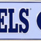 North Carolina Tar Heels Ave Embossed Metal Novelty Street Sign
