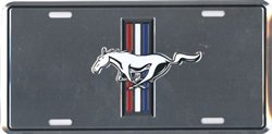 Ford Mustang Embossed Metal Novelty License Plate Tag Sign