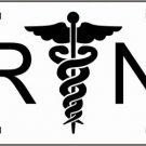 RN Registered Nurse Metal Novelty License Plate Tag Sign