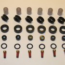 Fuel Injector Service Rebuild Kit & O-rings Denso 8 Cyl - Toyota Mitsubishi Imports