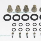 Toyota 3.4L V6 Fuel Injector Service kit - o-rings Seals Filters Pintle caps 5VZFE
