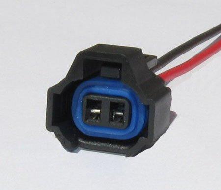 2 Fuel Injector Connector Denso Miata WRX STI 350z Supra Camry Corolla Celica GS300 IS300 RX7