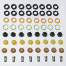 BMW V8 Fuel Injector Service Kit Orings Filters Pintle Caps 3.0L 3.5L 4.4L 4.0L 4.9L and 5.0L 8 Cyl