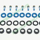 FUEL INJECTOR REPAIR KIT O-RINGS FILTERS PINTLE CAPS CHEVY GMC 4.8L 5.3L