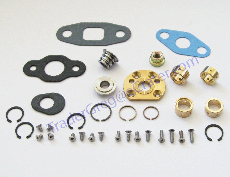 GMC Chevrolet 6.5 Liter Diesel Turbo Rebuild Kit + New Compressor wheel