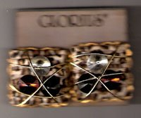 Vintage Clip-On Earrings by Glorius