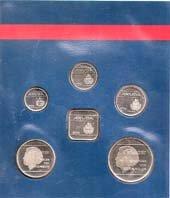 Coins of Aruba Collectors Set