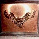 Three Dimensional Copper Wall Art, American Eagle