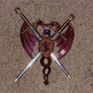 Dragon Coat of Arms w/ swords