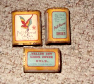 Poll Parrot red Wing Advertising Bank