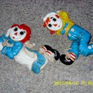 Vintage Raggedy Ann and Andy Wall Décor