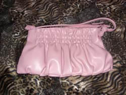 Pink Designer Handbag from Victoria Secrets