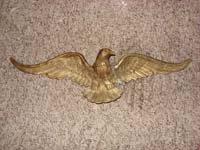 Patriotic Brass Eagle