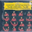 Haydn Symphonien No 92, Oxford No.  88