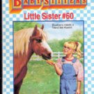 Karens Pony by Ann M Martin (Babysitters Little Sisters #60)