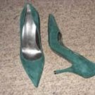 Marc Fisher Forest Green Pumps, Size 7M