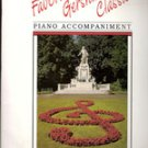 "Favorite Gershwin Classics"" Piano Acccompaniments"