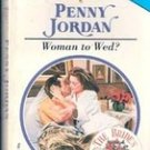 Woman to Wed by Penny Jordan
