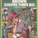 Encyclopedia Brown Solves Them All by Donald J Sobol