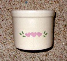 Roseville (R.R.P.) Pottery Crock, 1pt. Low