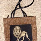 Bueno Lion/Animal Print ladies Handbag