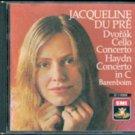 Dvorak: Cello Concerto; Haydn: Cello Concerto in C; Jacqueli