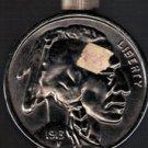 Avon 1913 Buffalo Nickel After Shave Decanter, circa 1971