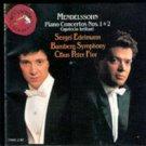 Mendelssohn Piano Concerto Nos. 1 & 2 ( Music CD)