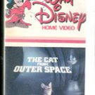 Walt Disney The Cat from Outer Space (VHS Movie)