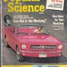 Popular Science Magazine, May 1964