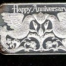 Silver Anniversary Bar (1 oz.  999 Madison Mint) 1983
