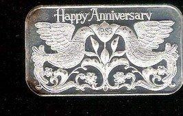Silver Anniversary Bar (1 oz.  999 Madison Mint) 1983