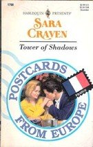 Tower of shadows (Postcards from Europe) by Sara Craven