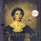 Daughter of Fortune by Isabel Allende, First Edition
