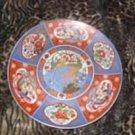 Vintage Inlaid Decorative Peacock Plate