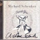 Thank You by Michael Schenker (Ink Signed CD by Michael Schenker, First release)