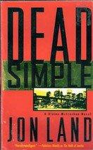 Dead Simple by Jon land (Paperback)