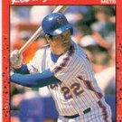 1990 Donruss Card 218 Kevin McReynolds, New York mets