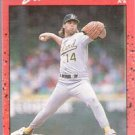 1990 Donruss Card 479, Storm Davis (Oakland Athletics)
